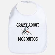 Crazy About Mosquitos Bib