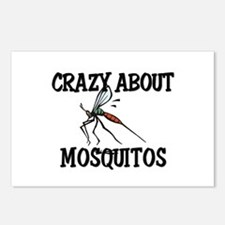 Crazy About Mosquitos Postcards (Package of 8)