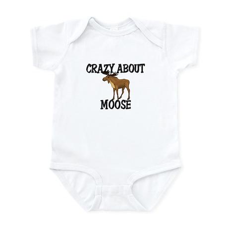 Crazy About Moose Infant Bodysuit