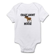 Crazy About Moose Infant Bodysuit