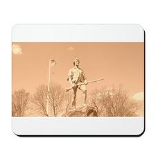 Lexington Minuteman Statue Mousepad