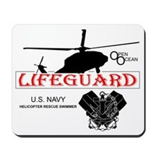 USN Open Ocean Lifeguard Mousepad