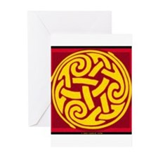 Celtic Spiral Greeting Cards (Pk of 10)