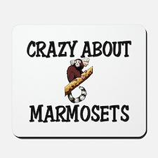 Crazy About Marmosets Mousepad