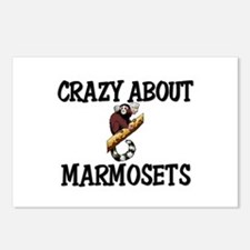 Crazy About Marmosets Postcards (Package of 8)