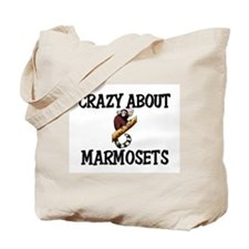Crazy About Marmosets Tote Bag