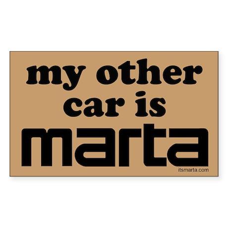 MARTA Rectangle Sticker