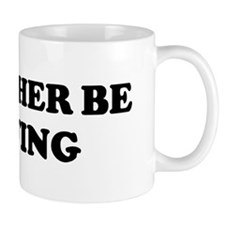 Rather be Surfing Small Mug