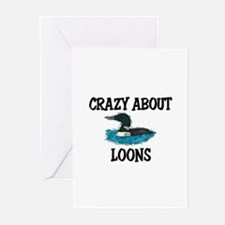 Crazy About Loons Greeting Cards (Pk of 10)