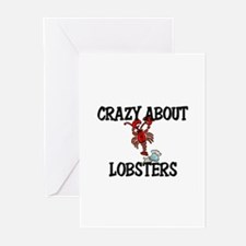 Crazy About Lobsters Greeting Cards (Pk of 10)