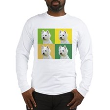 Westies in color! Long Sleeve T-Shirt