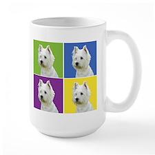 Westies in color 2! Mug