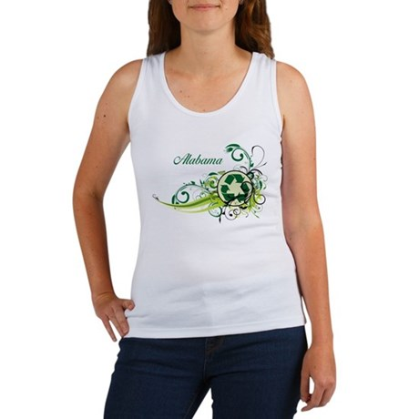 Alabama Recycle T-Shirts and Gifts Women's Tank To