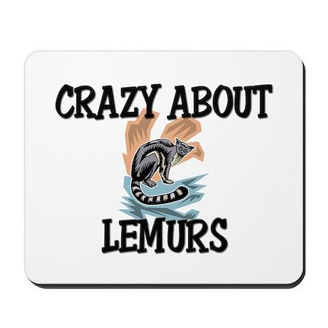 Crazy About Lemurs Mousepad