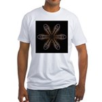 Chinese Tree Peony Pods Fitted T-Shirt