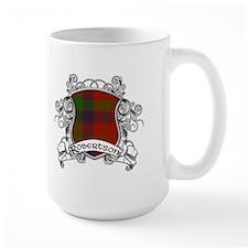 Robertson Tartan Shield Mug