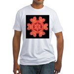 Canna Lily I Fitted T-Shirt