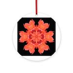 Canna Lily I Ornament (Round)