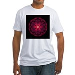 Beach Rose II Fitted T-Shirt