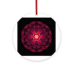 Beach Rose II Ornament (Round)