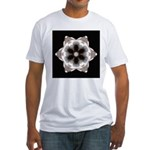African Daisy II Fitted T-Shirt