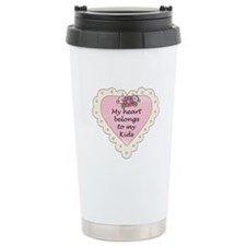 Heart Belongs Kids Travel Mug