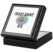 Crazy About Koi Keepsake Box