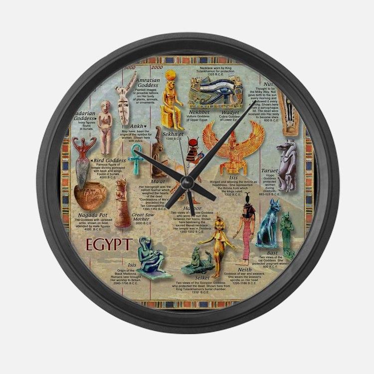 Cute Deities Large Wall Clock