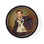 Lincoln / Scottie (w) Wall Clock