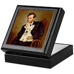 Lincoln / Scottie (w) Keepsake Box