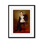 Lincoln / Scottie (w) Framed Panel Print
