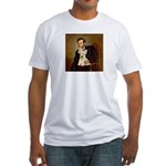 Lincoln / Scottie (w) Fitted T-Shirt