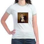 Lincoln / Scottie (w) Jr. Ringer T-Shirt