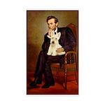 Lincoln / Scottie (w) Sticker (Rectangle 10 pk)
