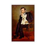 Lincoln / Scottie (w) Sticker (Rectangle)