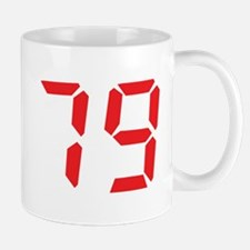 79 seventy-nine red alarm clo Mug