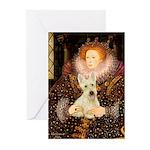 Queen / Scottie (w) Greeting Cards (Pk of 20)