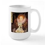 Queen / Scottie (w) Large Mug