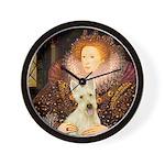 Queen / Scottie (w) Wall Clock