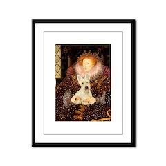 Queen / Scottie (w) Framed Panel Print