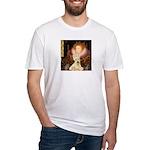 Queen / Scottie (w) Fitted T-Shirt