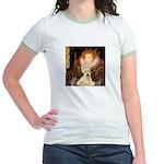 Queen / Scottie (w) Jr. Ringer T-Shirt