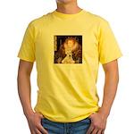 Queen / Scottie (w) Yellow T-Shirt