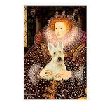 Queen / Scottie (w) Postcards (Package of 8)