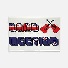Band Meeting - FOTC Rectangle Magnet