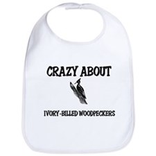 Crazy About Ivory-Billed Woodpeckers Bib