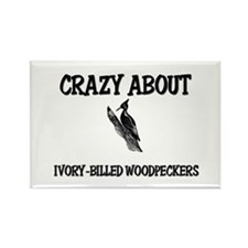 Crazy About Ivory-Billed Woodpeckers Rectangle Mag