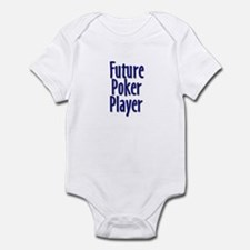 Future Poker Player Infant Creeper