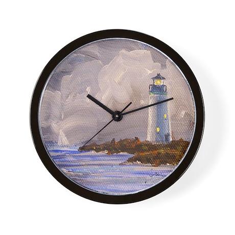 Santa Cruz Lighthouse Wall Clock