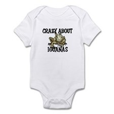 Crazy About Iguanas Infant Bodysuit
